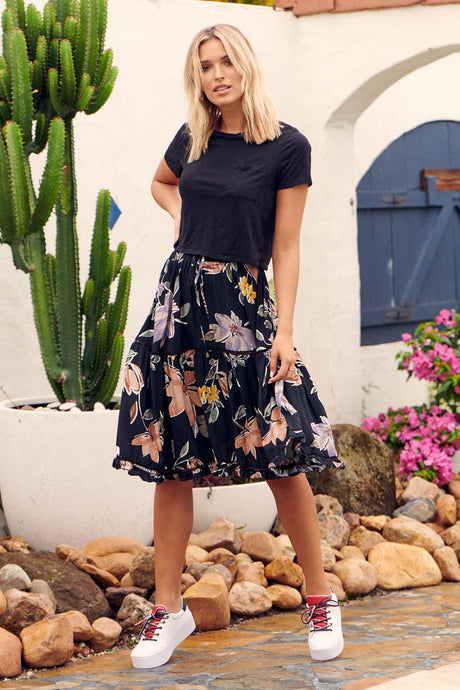 JAASE Freedom Midi Skirt  Peppa