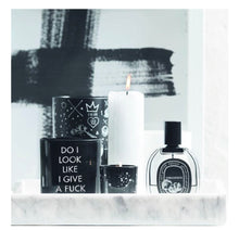Damselfly Quote Candle ~ Zen as *