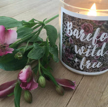Barefoot Wild & Free Candle