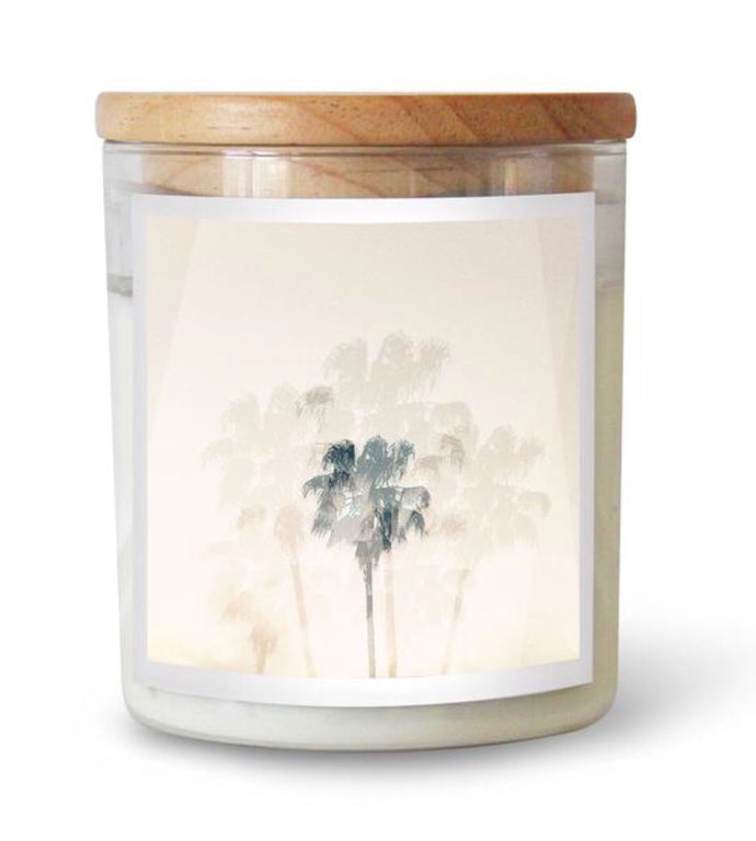 Sea Bones Double Exposure Soy Candle
