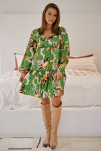 JAASE Aira Mini Dress Birds of Paradise