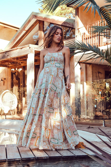 JAASE ADRIANA MAXI DRESS FIORELLI