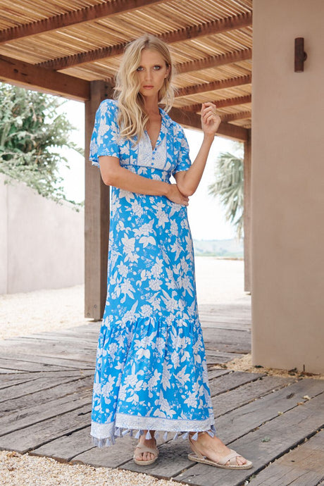 JAASE RIVIERA MAXI DRESS ERDEM
