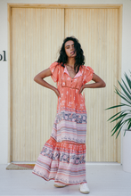 JAASE Valerie Maxi Dress Tropic Tonic