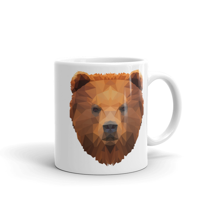 Bear Mug - Animal Face