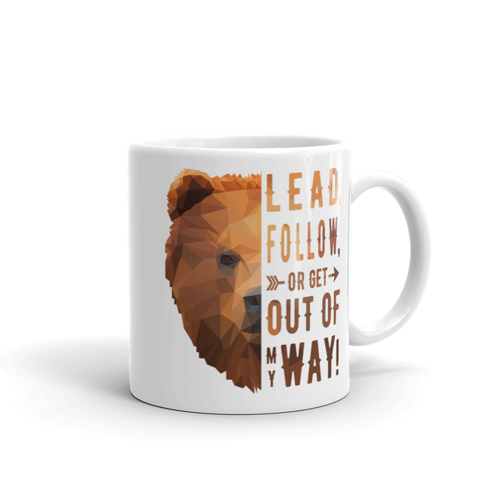 Bear Mug - Lead Quote