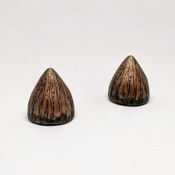 Short Bronze Horn Set