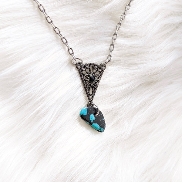 Spotted Turquoise Pendant