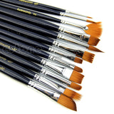 Nylon Paintbrush 12pc Set