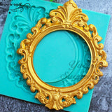 Ornate Frame Silicone Mould