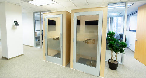 soundproof phone office booths