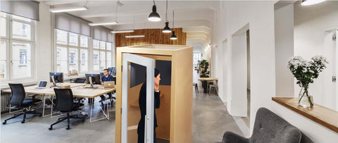 internal office pod