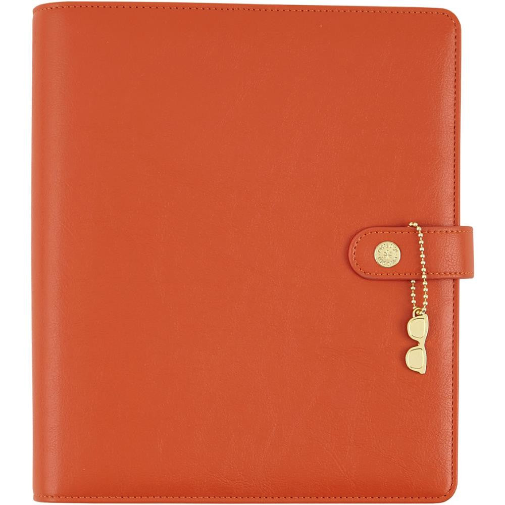 The Reset Girl Persimmon A5 Planner Binder by Simple Stories