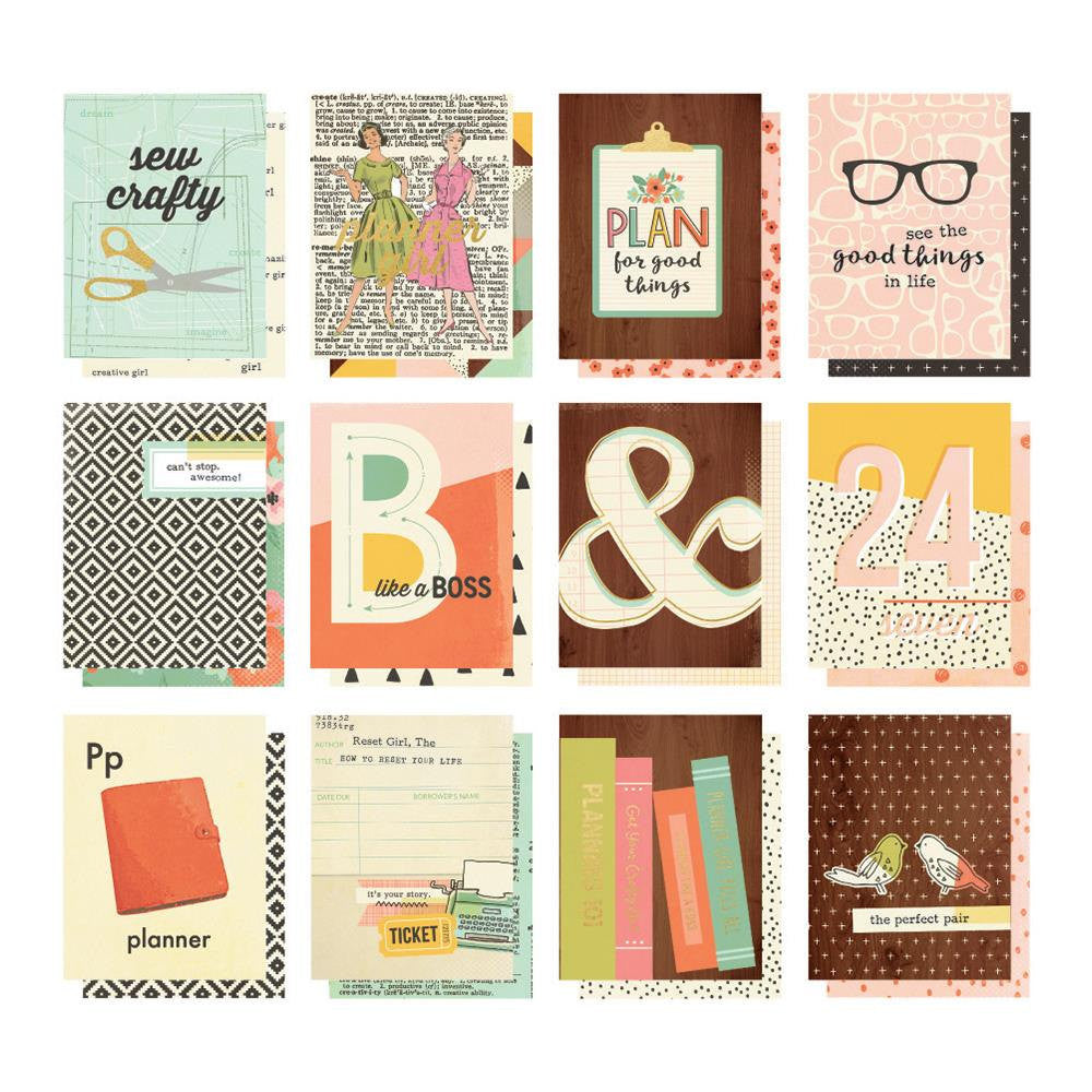 The Reset Girl Carpe Diem 3x4 inch Planner Pocket Cards