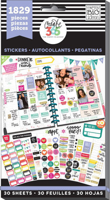 1,829 MAMBI Happy Planner Basics Value Sticker Book