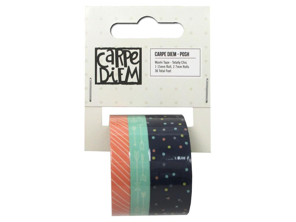 Carpe Diem Posh Totally Chic Washi Tape