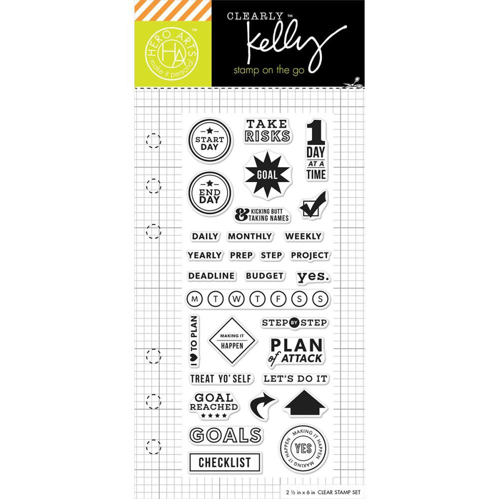 GOAL PLANNER Kelly Purkey Planner Stamps