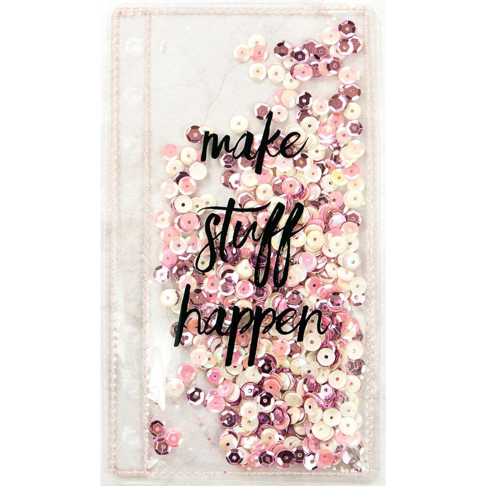 "Sequin PLANNER SHAKER Bookmark ""Make Stuff Happen"" by Frank Garcia & Prima"