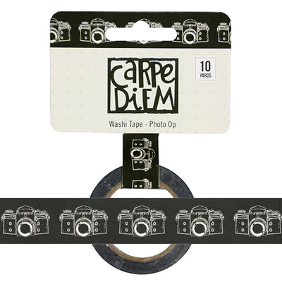 Say Cheese PHOTO OP Camera Carpe Diem Washi Tape, 15mm x 10 yards