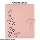 HEART EDGE Carpe Diem Vinyl Planner Decal