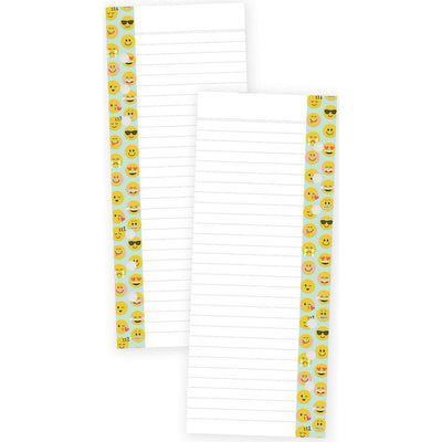 EMOJI LOVE Lined Paper A5 Bookmark Tablet, 24 sheets