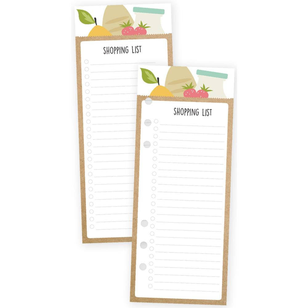 SHOPPING LIST A5 Bookmark Tablet, 24 sheets