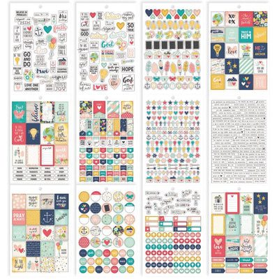 FAITH Carpe Diem Planner Sticker Book 703 planner stickers