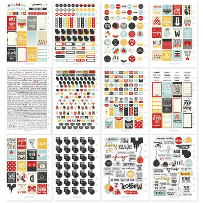 SAY CHEESE Disney Vacation Sticker Book, 609 planner stickers