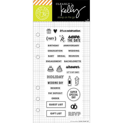 Kelly Purkey Ocassion Planner Stamps
