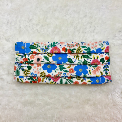 Primavera by Rifle Paper Co. Pleated Face Mask