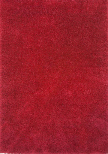 Super Shaggy Area Rug Red 1810 - Context USA - Area Rug by MSRUGS
