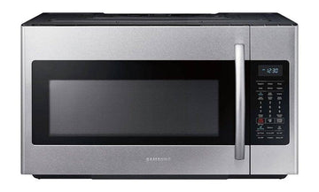 Samsung - 1.8 cu. ft. Over-the-Range Fingerprint Resistant Microwave with Sensor Cooking -Stainless Steel - Fingerprint Resistant Stainless Steel