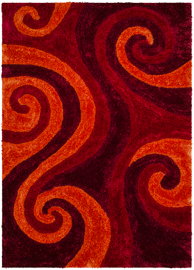Shaggy 3D 805 Area Rug