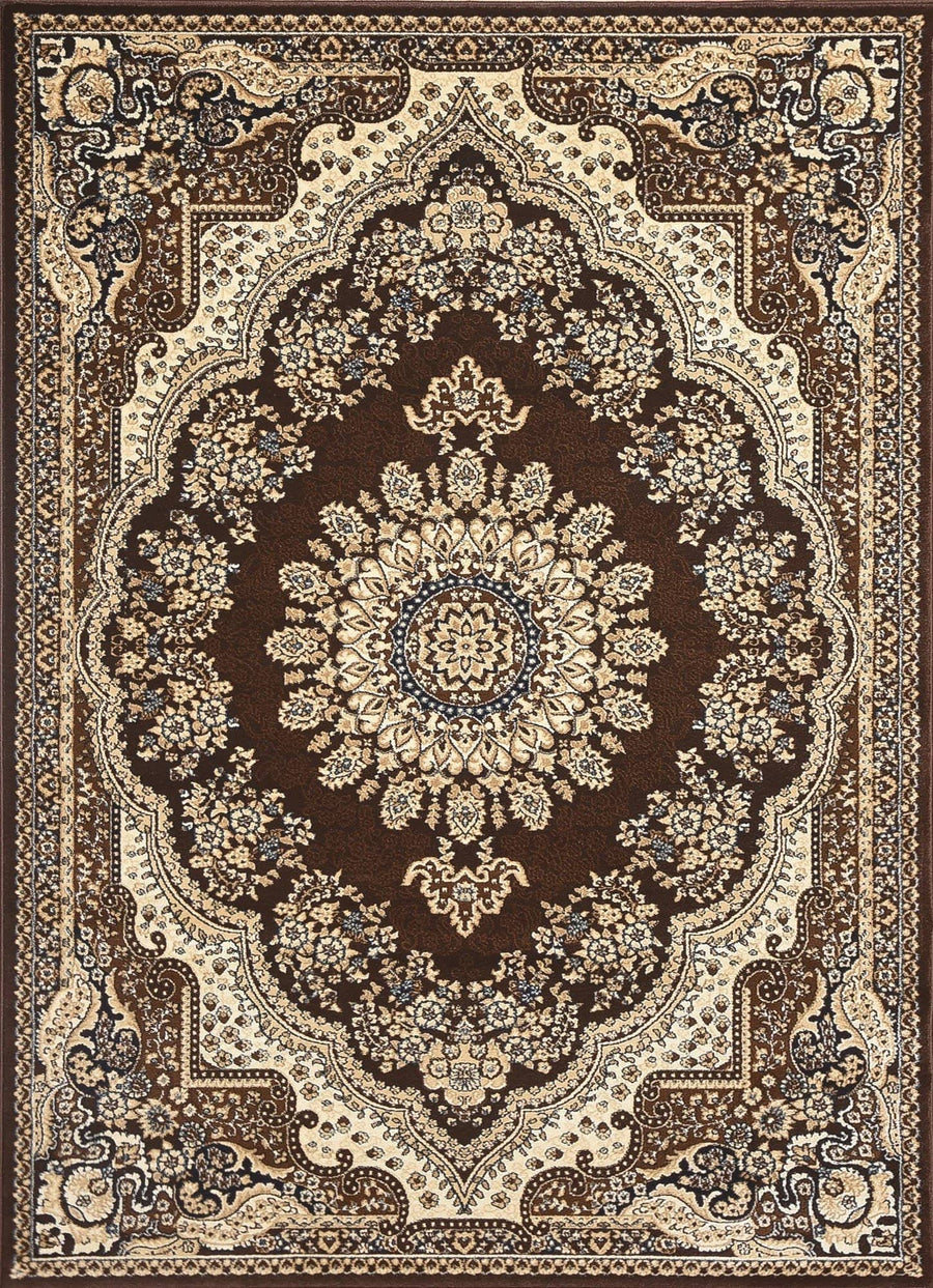Persian Style Traditional Oriental Medallion Area Rug Empire 1000 - Context USA - AREA RUG by MSRUGS