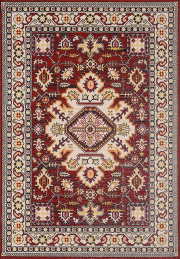 Persian Style Traditional Oriental Medallion Area Rug KLM 250 - Context USA - AREA RUG by MSRUGS