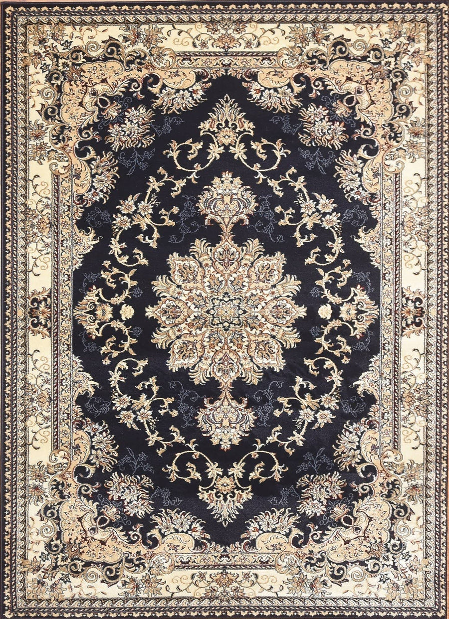 Persian Style Traditional Oriental Medallion Area Rug Empire 300 - Context USA - AREA RUG by MSRUGS