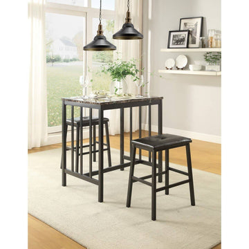 5106BK3-Piece Pack Counter Height Set