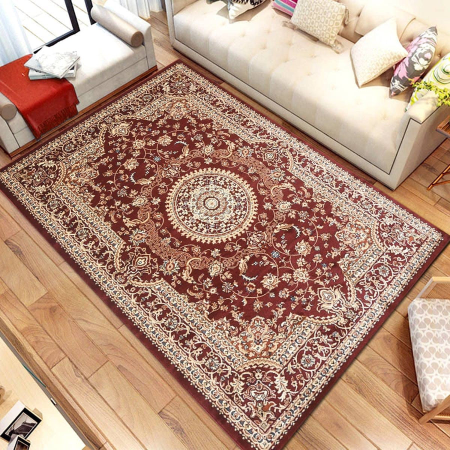 Persian Style Traditional Oriental Medallion Area Rug Empire 950 - Context USA - AREA RUG by MSRUGS