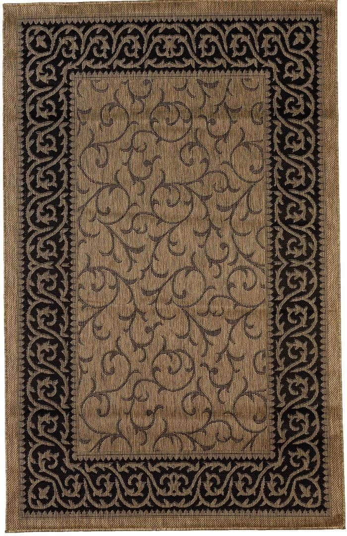 Key West Indoor/Outdoor Rugs Flatweave Contemporary Patio, Pool, Camp and Picnic Carpets FW 586 - Context USA - Area Rug by MSRUGS