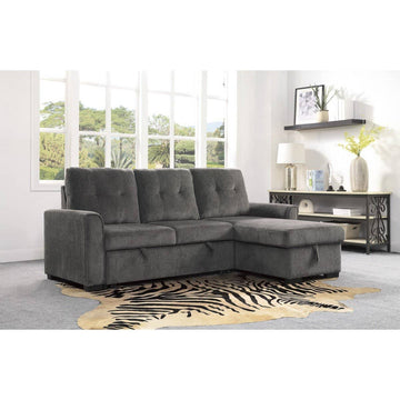 9402DGY 2-Piece Reversible Sectional with Storage