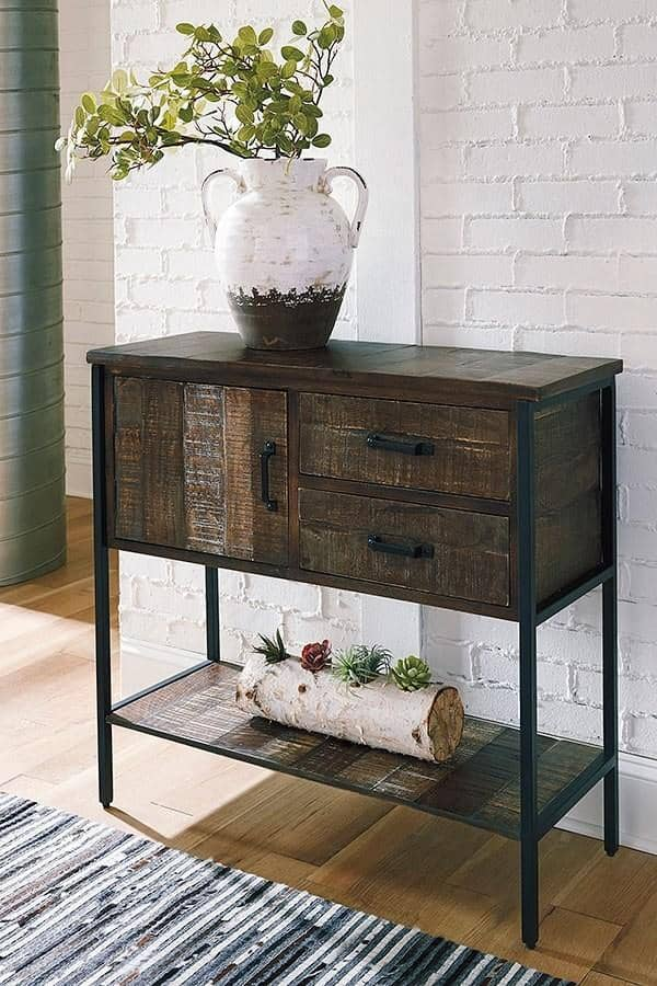 Brown Lamoney Accent Cabinet