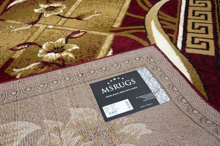 Original Rosemarie Floweret Area Rug Nairobi 6121A - Context USA - Area Rug by MSRUGS