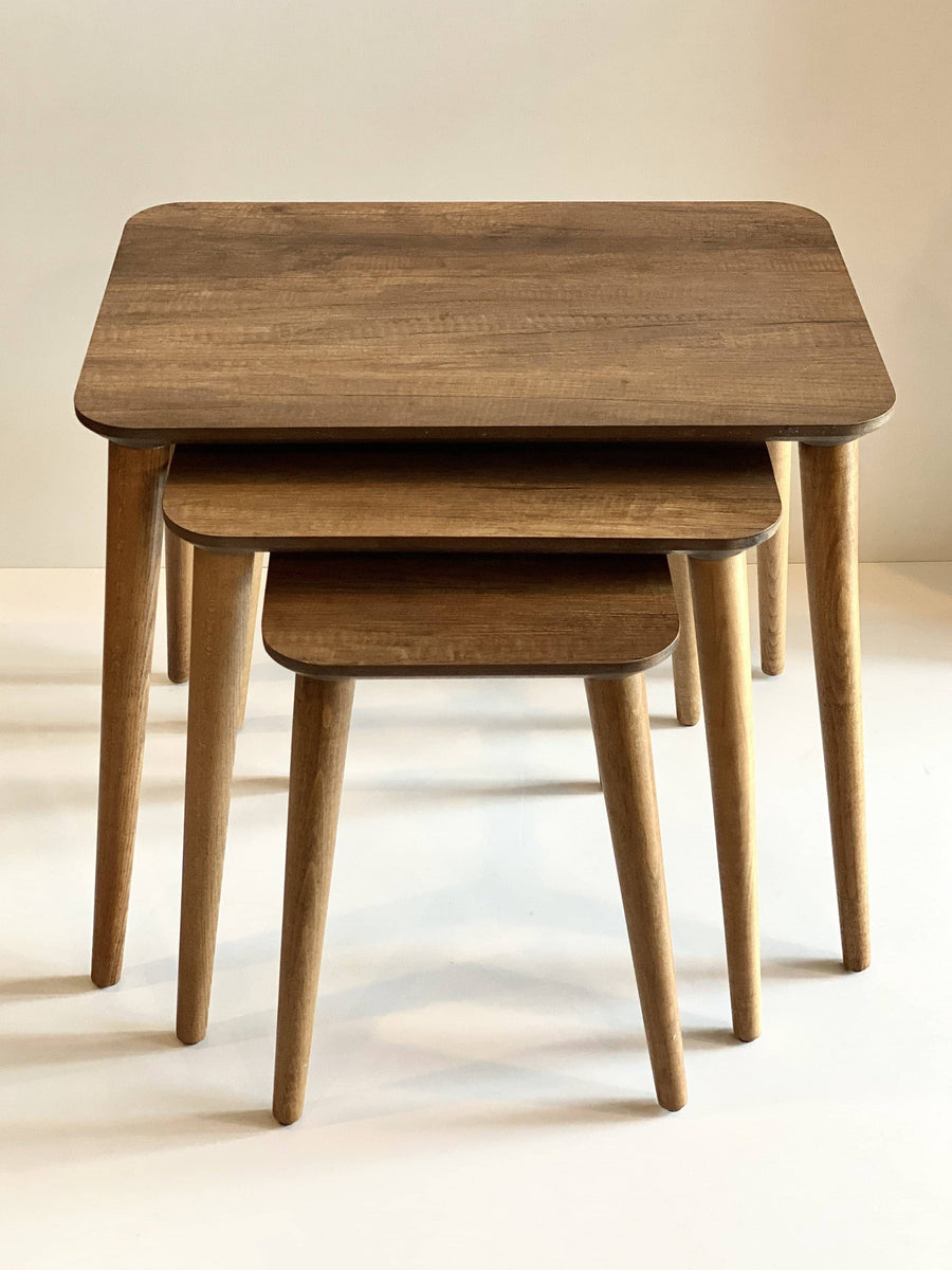 Barok Modern Nesting Table Set of 3