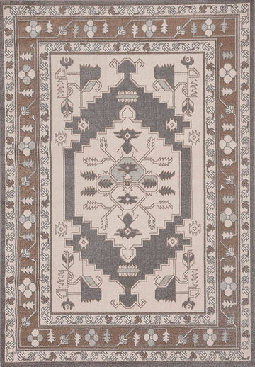 Persian Style Traditional Oriental Medallion Area Rug KLM 950 - Context USA - AREA RUG by MSRUGS