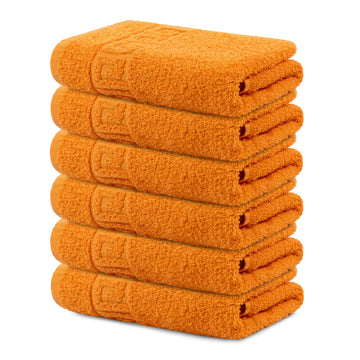 6 Piece 100% Cotton Hand/Bath Towel with Color Options - Context USA - Towel by Context