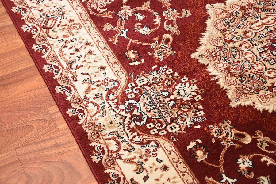 Persian Style Traditional Oriental Medallion Area Rug Empire 200 - Context USA - AREA RUG by MSRUGS