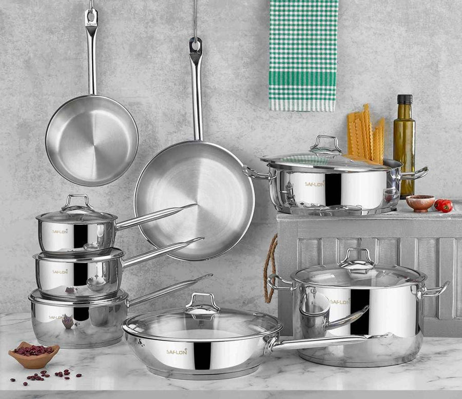 14 PIECE COOKWARE SET S