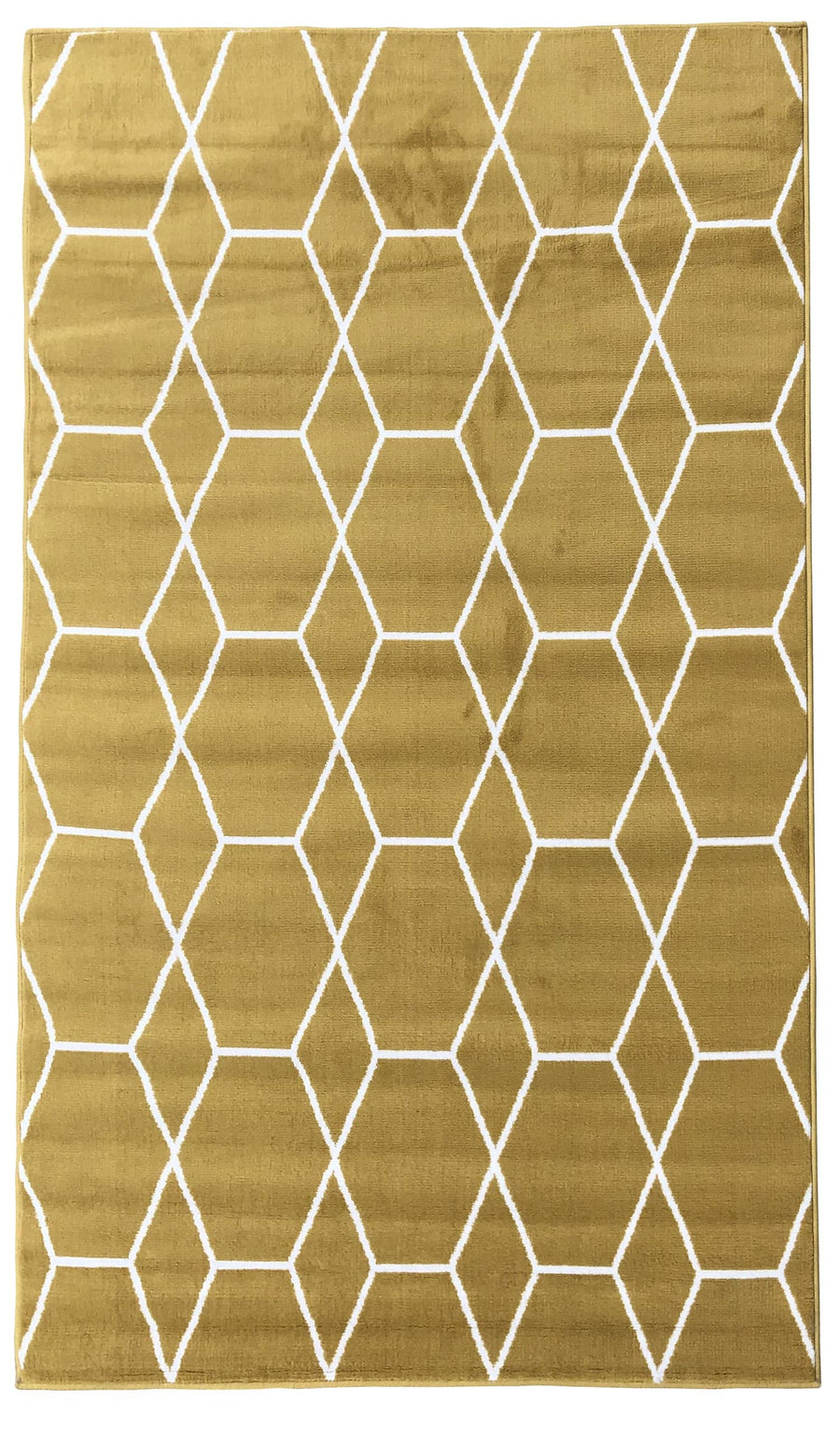 180 Yellow Moroccan collection area rug