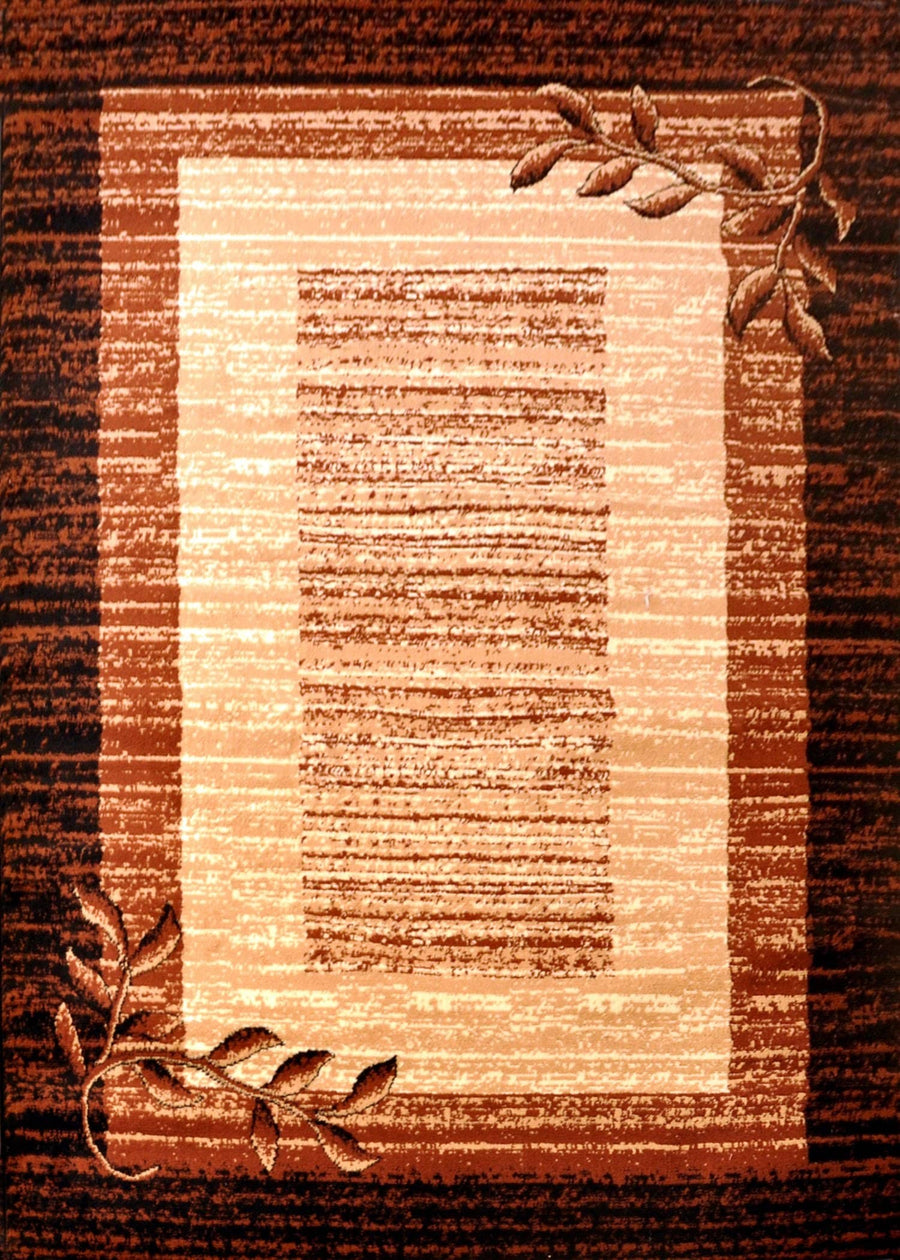 Wilda Black/Brown/Beige Area Rug Nairobi 1160 - Context USA - Area Rug by MSRUGS