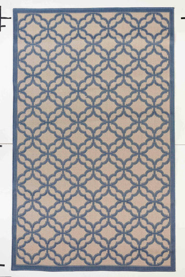 Festival Indoor/Outdoor Rugs Flatweave Contemporary Patio, Pool, Camp and Picnic Carpets FW 550 - Context USA - Area Rug by MSRUGS